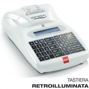 Registratore di cassa - RCH ONDA R con tastiera retroilluminata - Dimar Service - Napoli