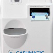 Cashmatic-cassetti automatici frontale