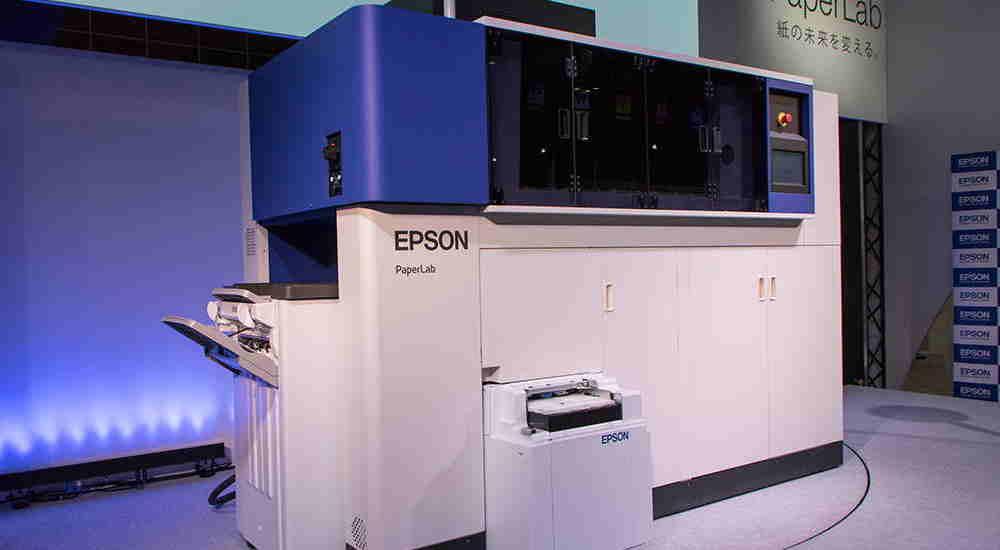PaperLab, la macchina di Epson che ricicla la carta