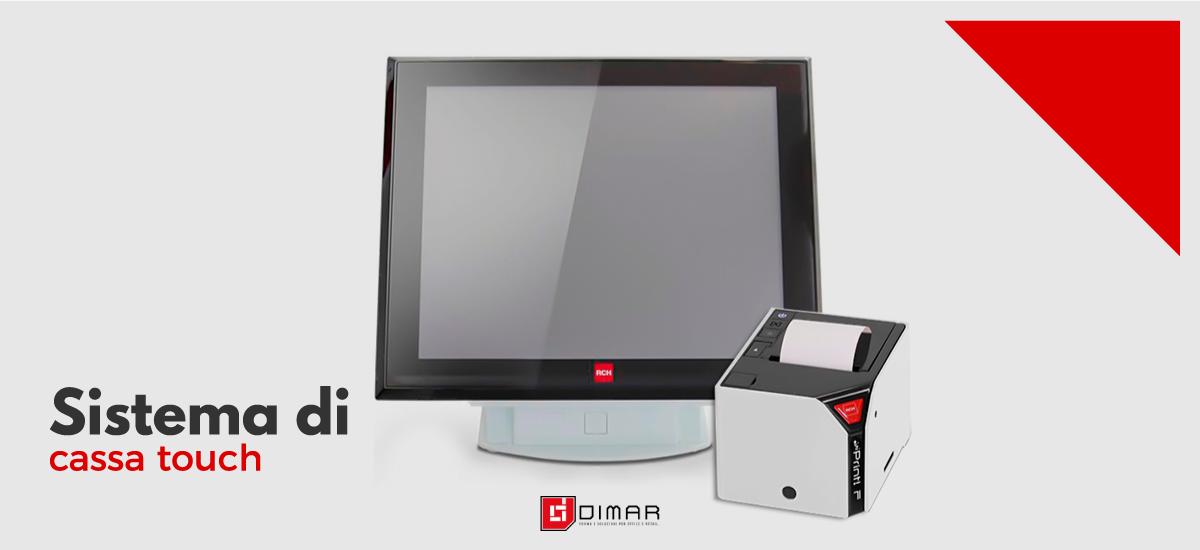 Sistemi di Cassa Touch Screen - Dimar Service - Napoli