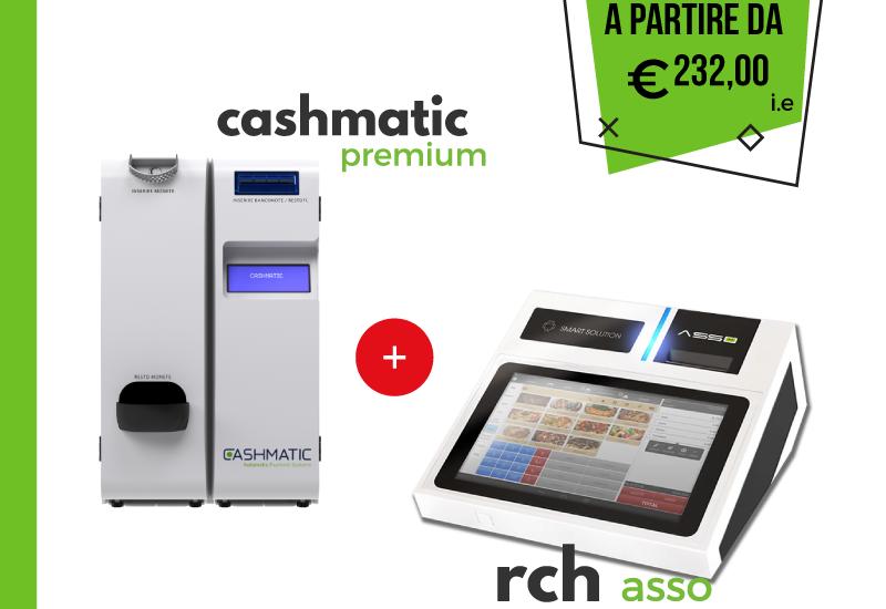 RCH Asso e Cashmatic Premium - Offerta Dimar Service